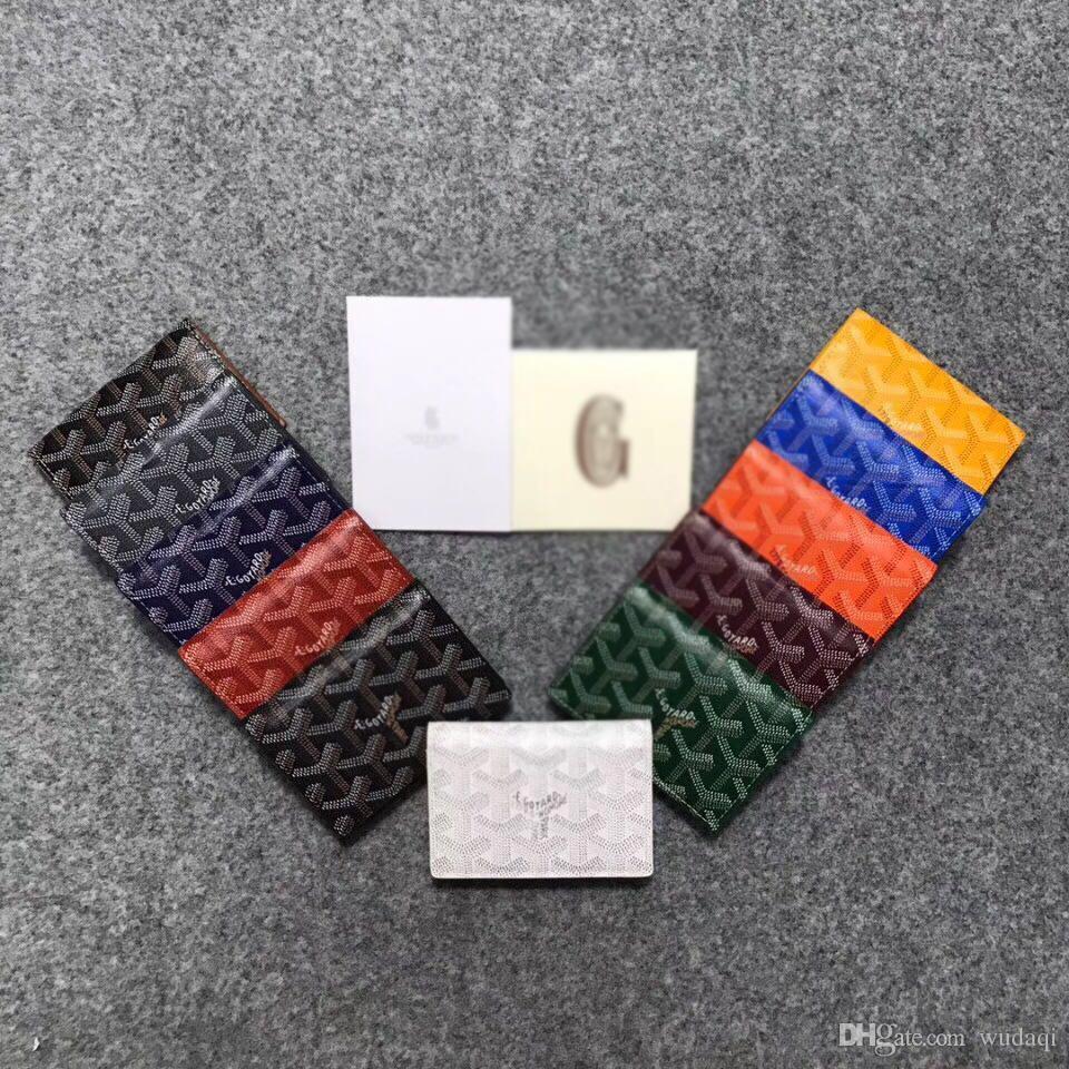 Pacote de cartão de bolsa de moedas verticais clipe de papel titular do cartão dobrável 8 camada de cabeça de couro de couro de cartão
