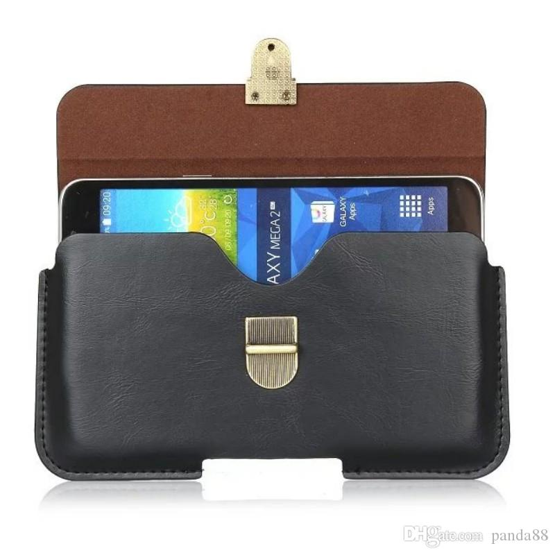 for Qilive Q.4415 Universal PU Leather Belt Clip Pouch Cover Case for Qilive Q.4415