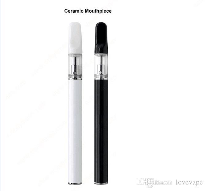 Hottest disposable Vape Pen .5Ml thick oil ceramic coil empty vape pen cartridges glass disposable vape pens free shipping DHL