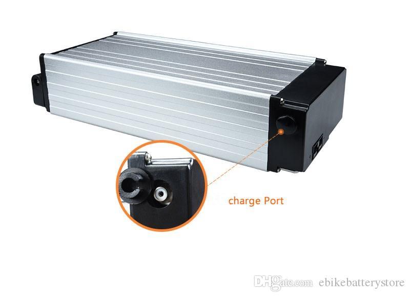 Freies Verschiffen Bafang 500W elektrische Fahrradbatterie 48V 15AH Lithium-Ionen Batterie eBike Akku 48v mit Ladegerät 20A BMS + 2A