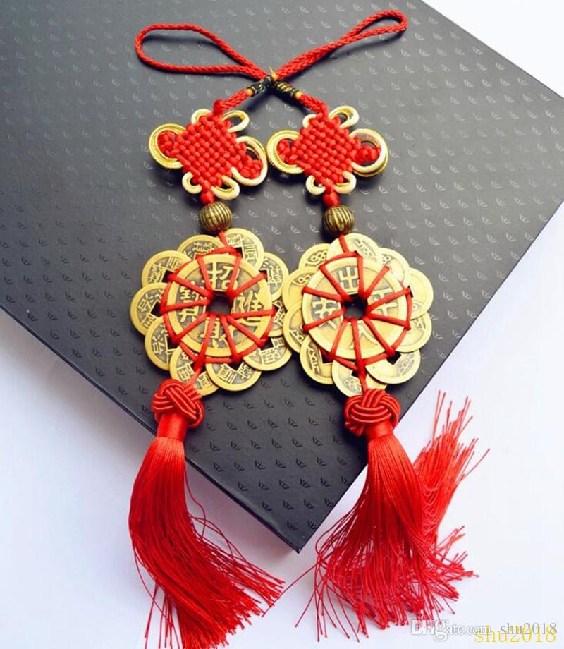 Large Red Chinese Knot Chinese Knotting Decoration Lucky Feng Shui Good Luck
