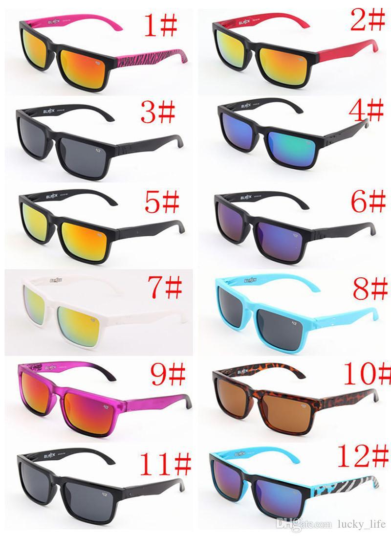 MOQ = 30 Designer Spienit Ken Block Helm Okulary przeciwsłoneczne Fashion Sports Okulary Oculos de Sol Okulary Okulary Eyeswearr 12 Kolory Okulary Unisex
