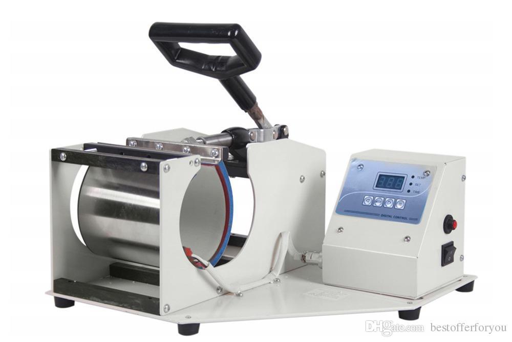Digital-Schalen-Becher-Wärmeübertragung-Presse-Maschine Sublimation Kaffee Latte Tasse Druckmaschine für Gläser Keramik