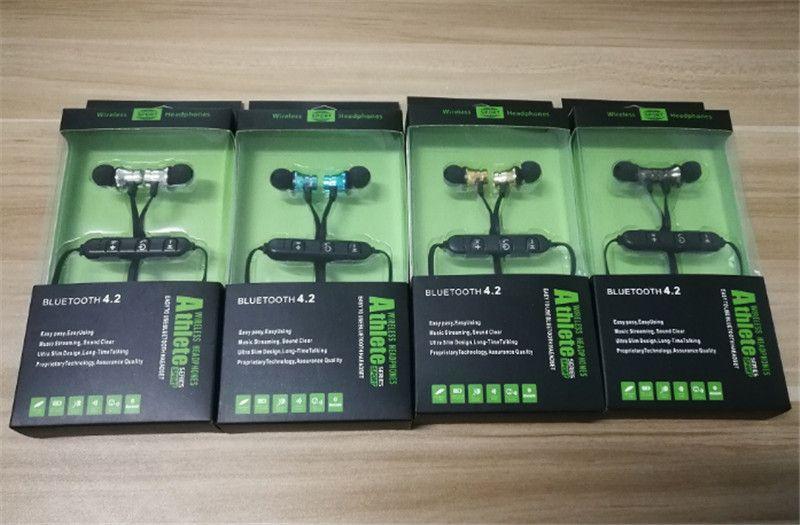 XT11 Магнит Спортивные наушники BT4.2 Беспроводные стереонаушники с микрофоном Наушники Бас-гарнитура для iPhone Смартфоны Samsung LG с розничной коробкой