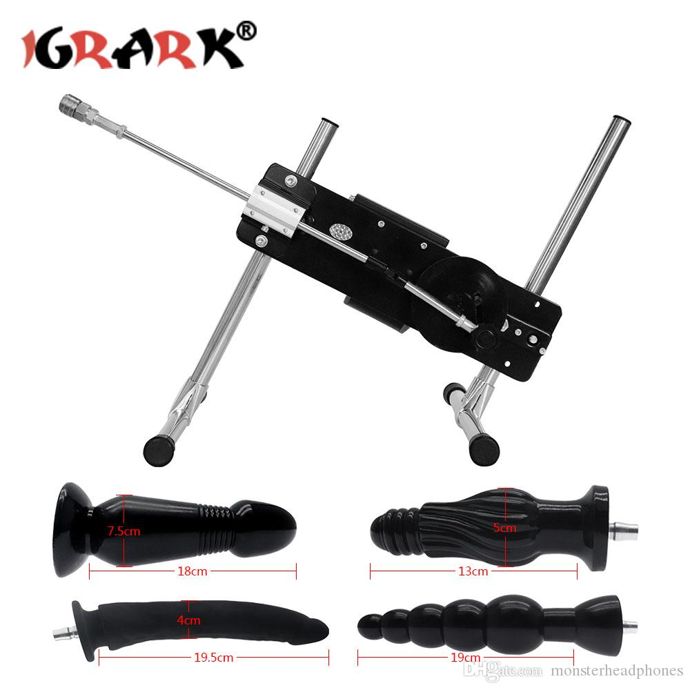 Extremely Quiet Automatic Sex Machine Vac-u-Lock Turbo Gear Power 120W Solid Steel Frame Love Machines for Women