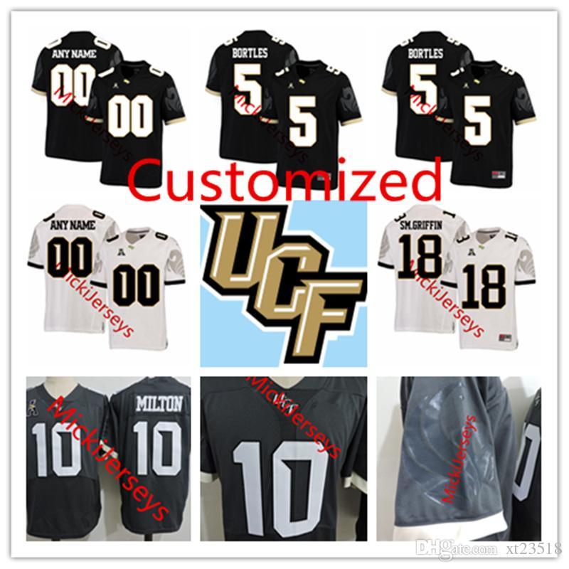 Brandon Marshall UCF Knights Football Jersey Black