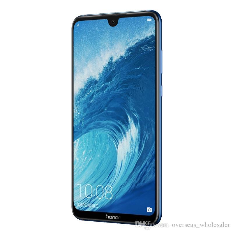 "Original Huawei Honor 8x MAX 4G LTE Mobiltelefon 4 GB RAM 64GB 128 GB ROM Snapdragon 660 Octa Core Android 7.12 ""Full Screen 16MP OTA 5000mAh Fingerprint ID Smart Handy"