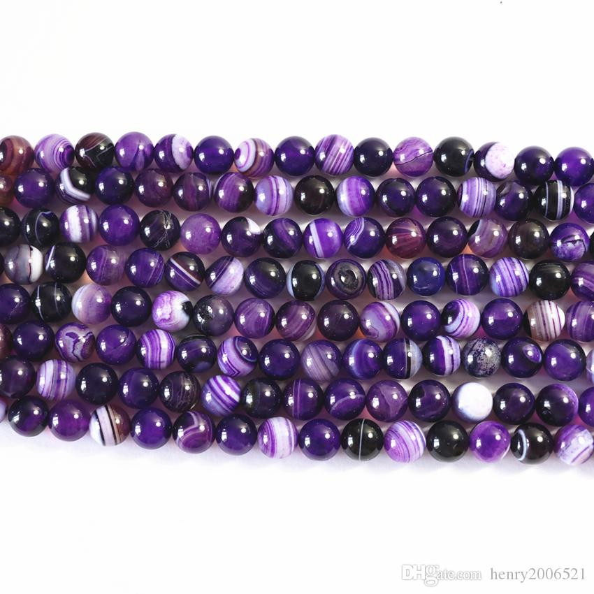 Charms purple dragon Veins Agat natural stone carnelian onyx 10mm round loose beads diy jewelry 15inch