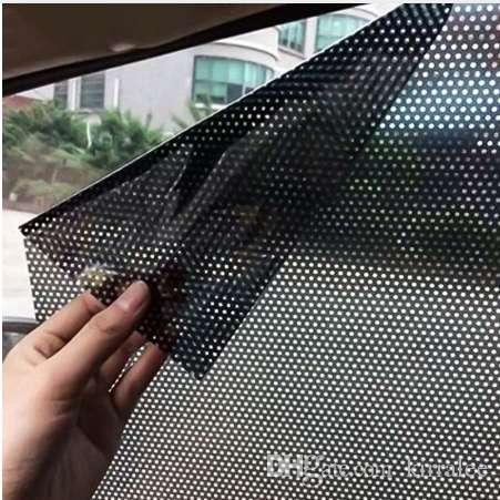 2Pcs/Lot Car Styling Window Foils Sticker Car Sunshade Auto Vehicle Sun Block Sun-shading Electrostatic Stickers