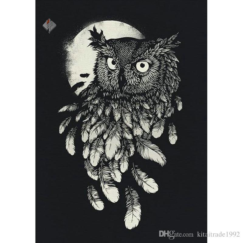 Animal diamond painting cute owl square Diamond Embroidery Full Paste Square Cross Stitch Home Decoration Paintings