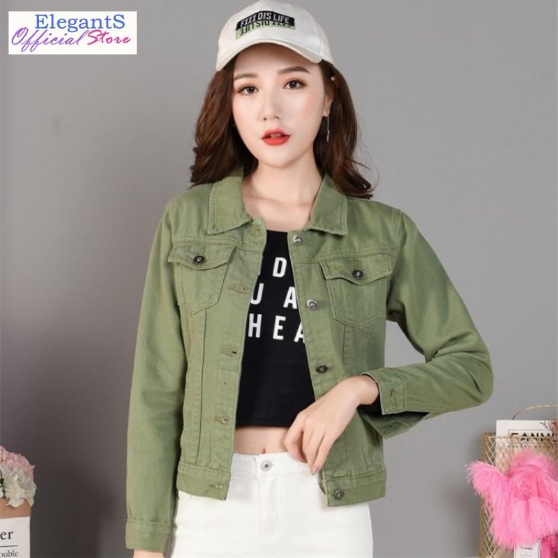 Women Denim Jacket Coat Casual Pattern Jean Overcoat Frayed Pockets Basic Coat Windbreaker Girls Slim Winter Outwear Novelty New