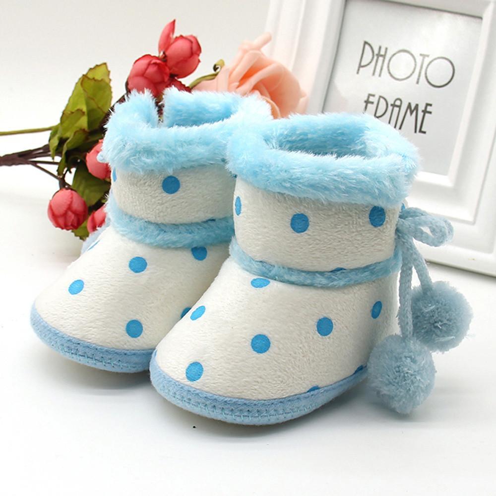 بنات الأولاد طفل لينة الجوارب أحذية الثلج طفل الرضيع حديث الولادة الاحترار أحذية المشي الأولى بيبك AYAKKABI للطفل 0-12 شهر