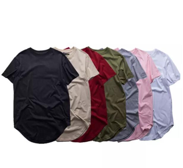 men extended t shirt