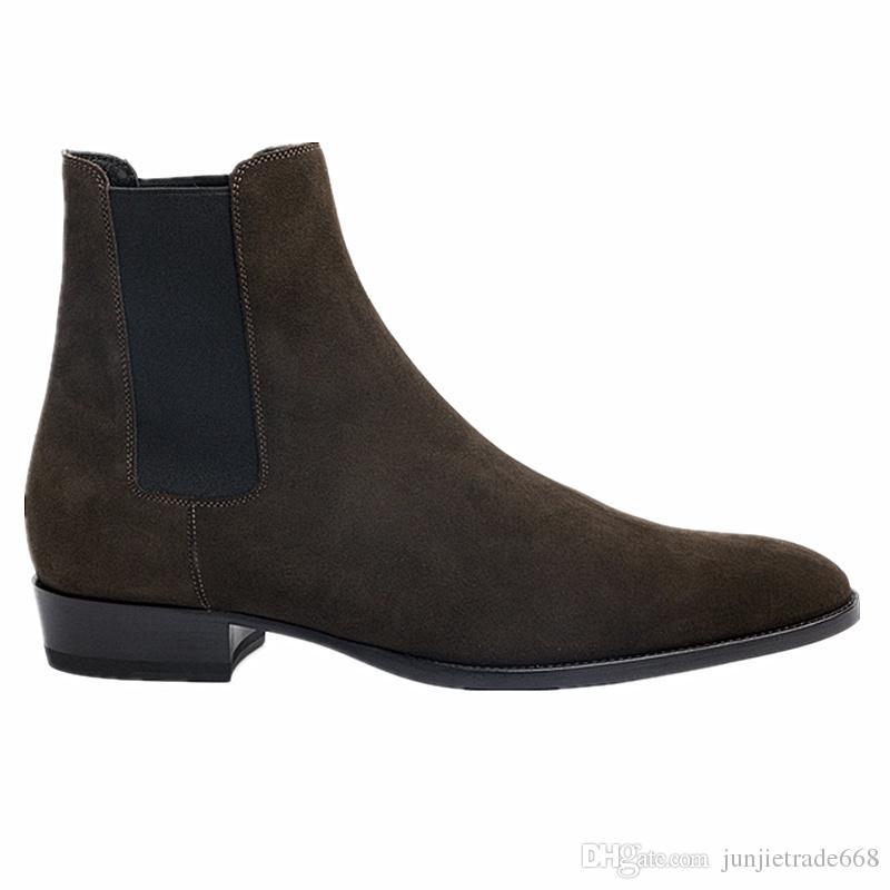 2018 novo artesanal kanye west slp chelsea botas exclusivas personalizar bonito legal slim denim botas