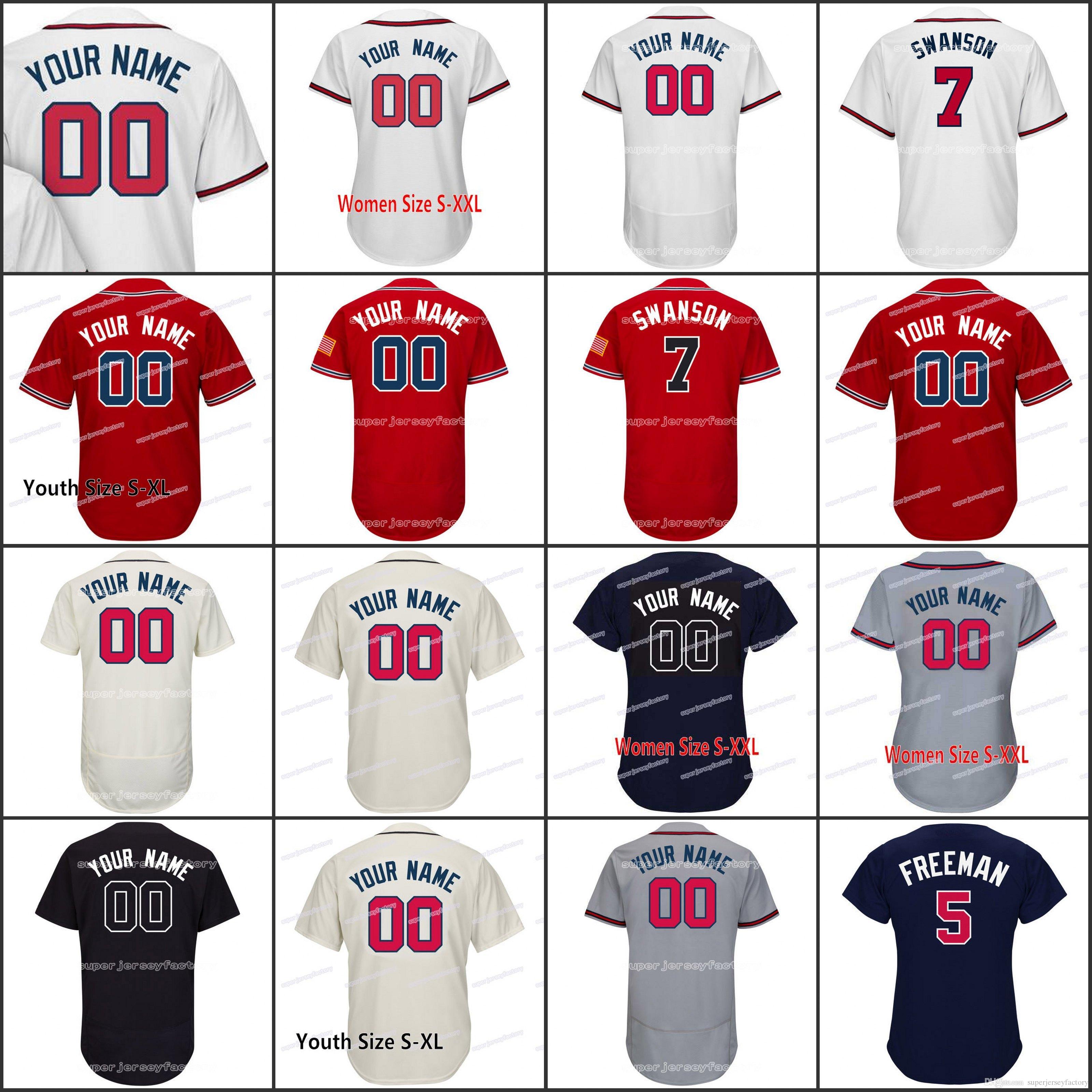 Hombres 51 Adam McCreer Mujeres / Jóvenes 67 A.J. Minter 60 Akeel Morris 47 Peter Moylan 51 Sean Newcomb 52 José Ramirez Camisetas de béisbol