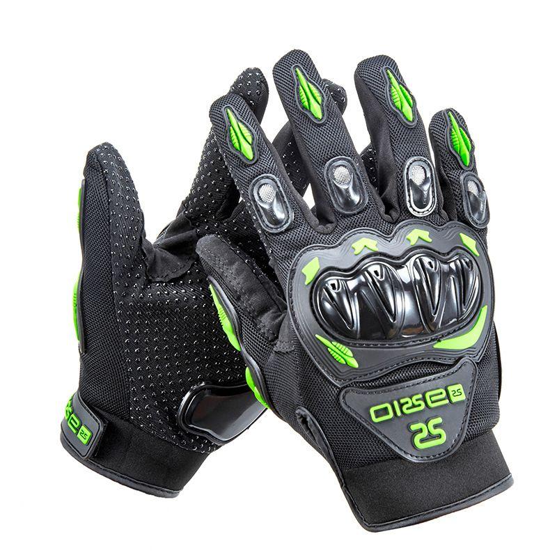 Grosses soldes!! Eté Hiver Full Finger gants de moto gants moto luvas moto en cuir moto gants de course moto guantes