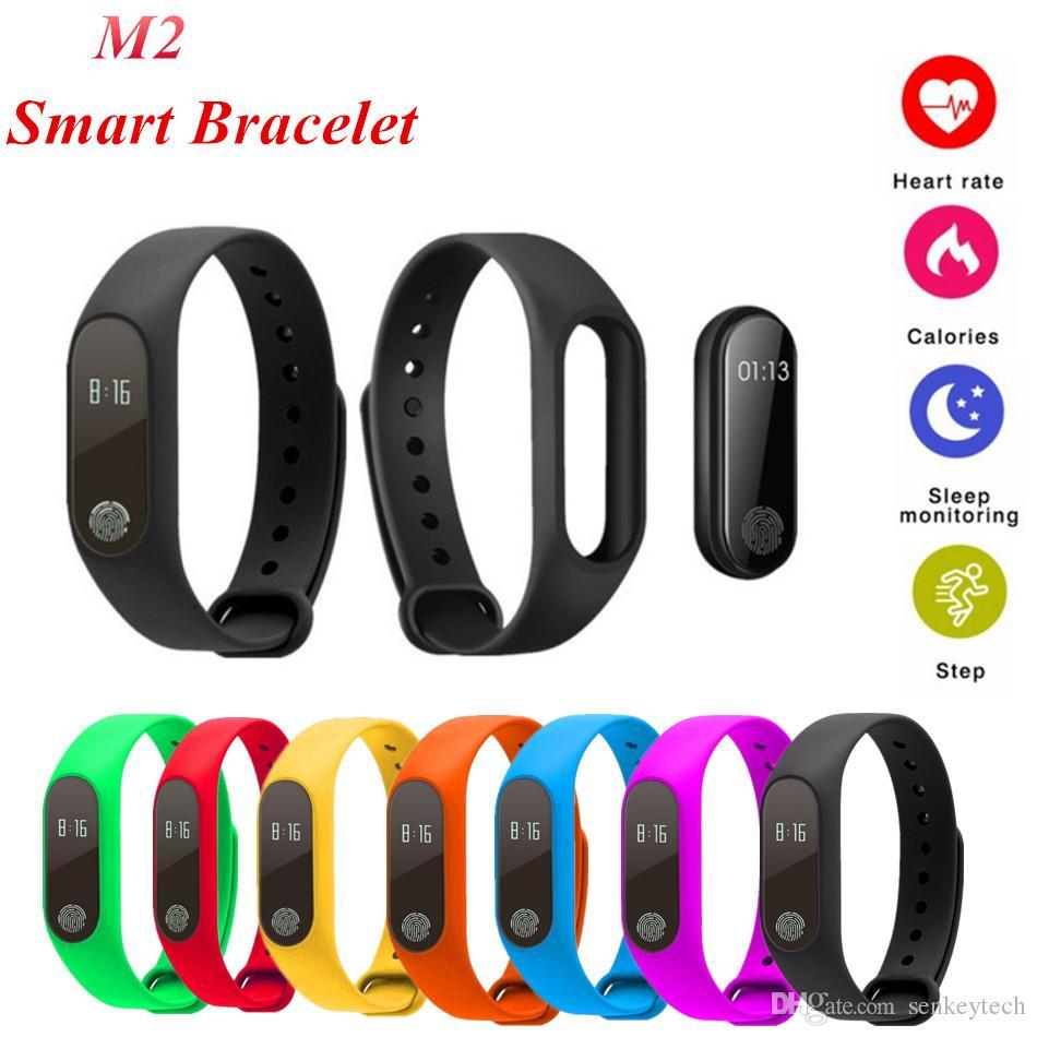 М2 смарт-браслет Фитнес-трекер монитор сердечного ритма водонепроницаемый активности трекер смарт-группа шагомер вызова напомнить здоровья браслет с OLED