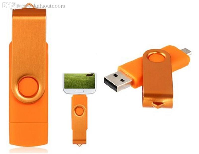 64GB 128GB 256GB OTG external USB Flash Drive for Android ISO Smartphones Tablets PenDrives U Disk Thumbdrives