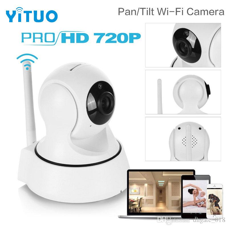 Mini HD Wireless IP Camera Wifi 720P Smart IR-Cut Night Vision P2P Baby Monitor Surveillance Onvif Network CCTV Security Camera YITUO