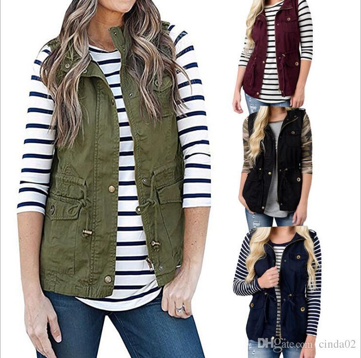 جديد أزياء المرأة سترة الشتاء معطف زر سترة 4 ألوان واحدة اعتلى سترات