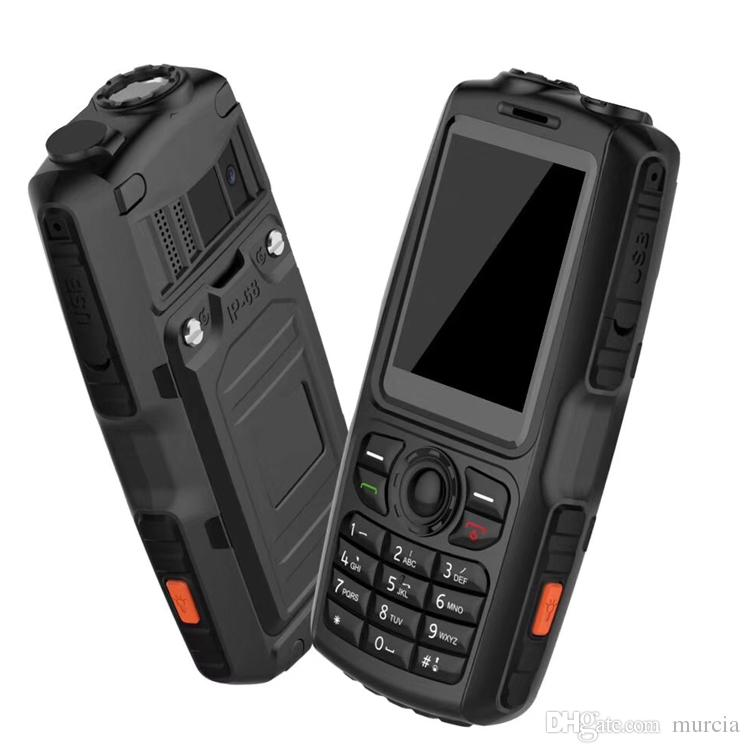 2.4 inch A18 Rugged Smartphone Waterproof Shockproof Dustproof Mobile Phone Cheapest With Big Speaker For Elder Factory Directly Color8