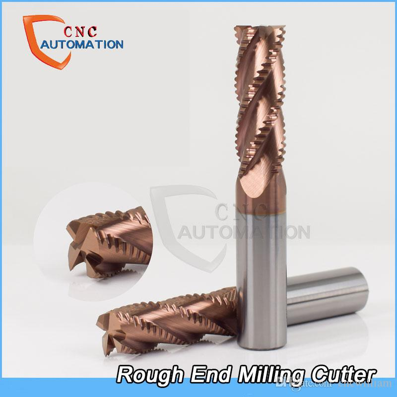 Rough End Mill Corrugated blade tungsten steel alloy coating CNC tool Special open corn milling cutter