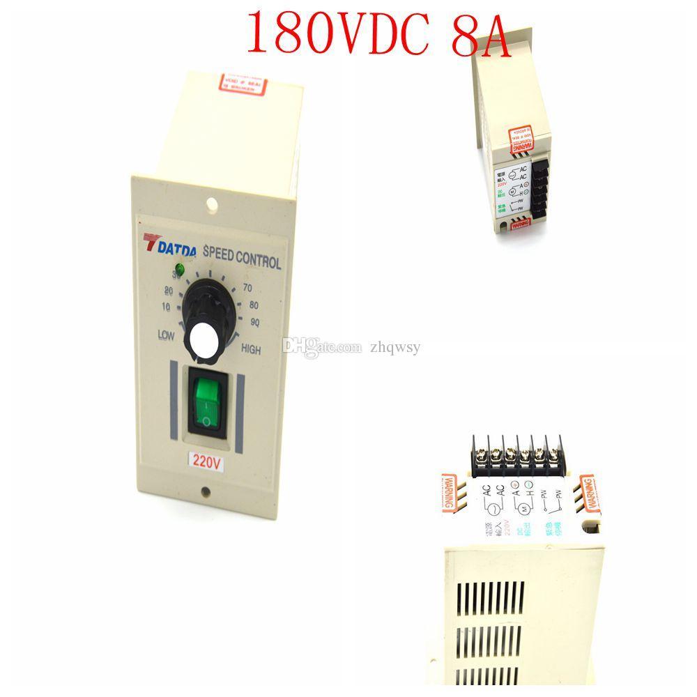 Motor Drehzahlregeler Kontroll AC 220V Eingang Dc 180V Leistung Einstellbar