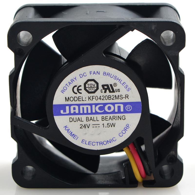 JAMICON 4020 4CM KF0420B2MS-R 1.5W ventilateur de refroidissement 24V 40 * 40 * 20MM