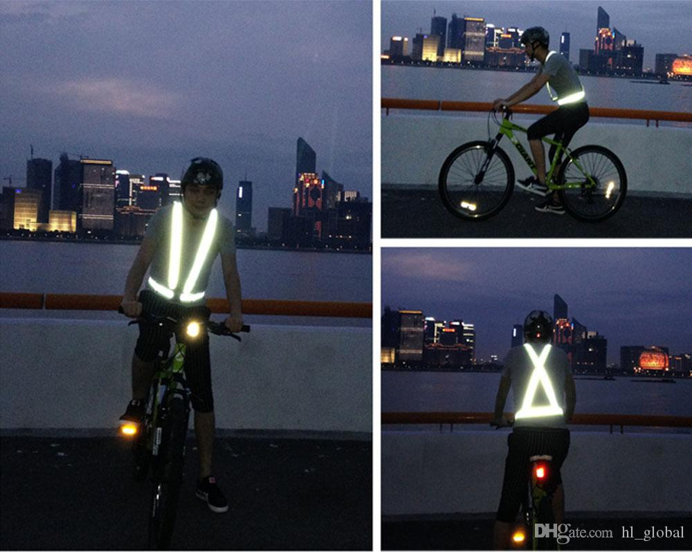 free shipping Bike Safe Reflective Safety Vest for Construction Traffic Warehouse Visibility Security Jacket Reflective Strips Wear Uniforms