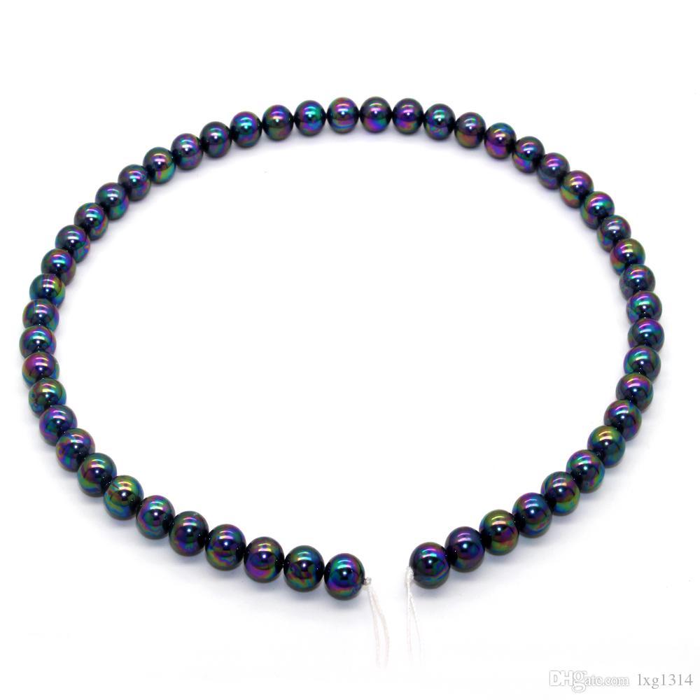 2018 Glamour Moda Biżuteria 8-9mm Duża Powłoka Pearl Oyster Shell Pearl Strings Da Matka niespodzianka prezent