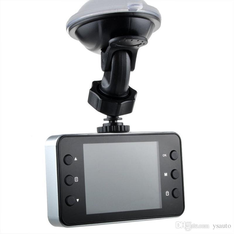 자동차 DVR 2.4 인치 K6000 전체 HD 대시 캠 Dashcam LED 야간 레코더 캠코더 PZ910 주차 모니터링 모션 감지 하나의 키 잠금