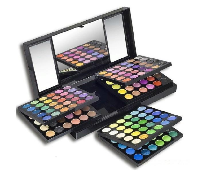 Mabchk الموضة المهنية ماكياج ظلال العيون 180 الألوان مزيج مجموعة مستحضرات التجميل عينيه
