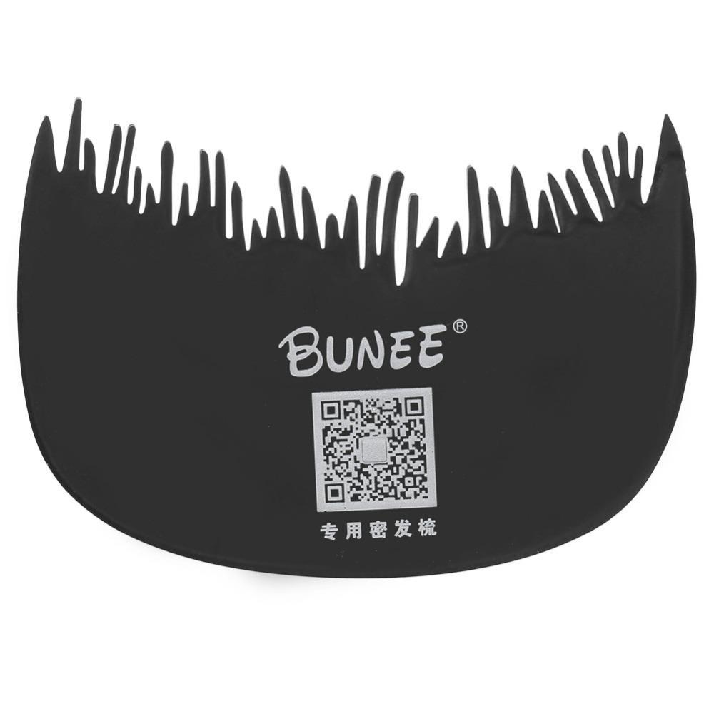 BUNEE Hair Building Fibers Comb Hair Loss Concealer Hairline Comb Hair Regrowth Fiber Guidline Comb