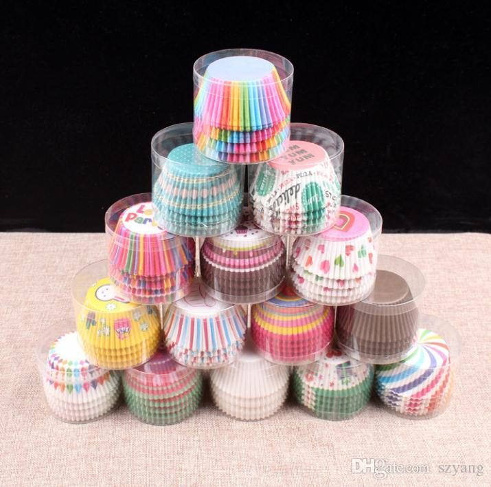 20000pcs selling Muffins Paper Cupcake Wrappers Baking Cups Cases Muffin Boxes Cake Cup Decorating Tools Kitchen Cake Tools SN1532