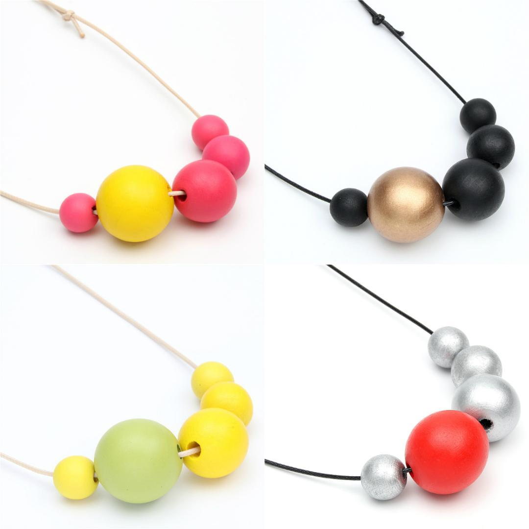 Necklace Jewelry Wood necklace charm 1pc Wood Beads Necklace Pendants