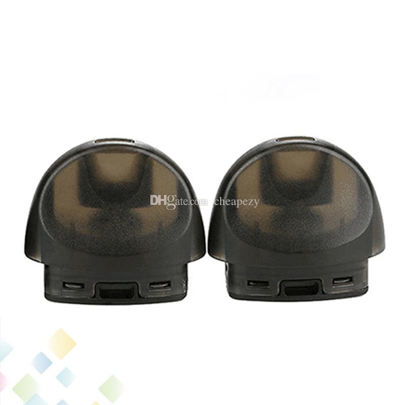 Autêntico JUSTFOG C601 Pod Cartucho 1.7 ml Recarregável Cartuchos Pod Poda Embutida 1.6ohm Resistência Para C601 Bateria DHL Livre