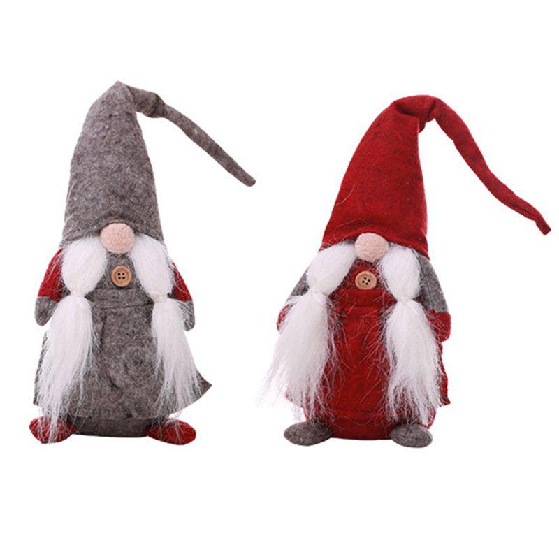 Handmade Sueco Tomte, Santa Boneca-Escandinavo Gnome De Pelúcia Presente De Aniversário-Enfeites Para Casa Decoração Do Feriado Decoração De Mesa Por Atacado