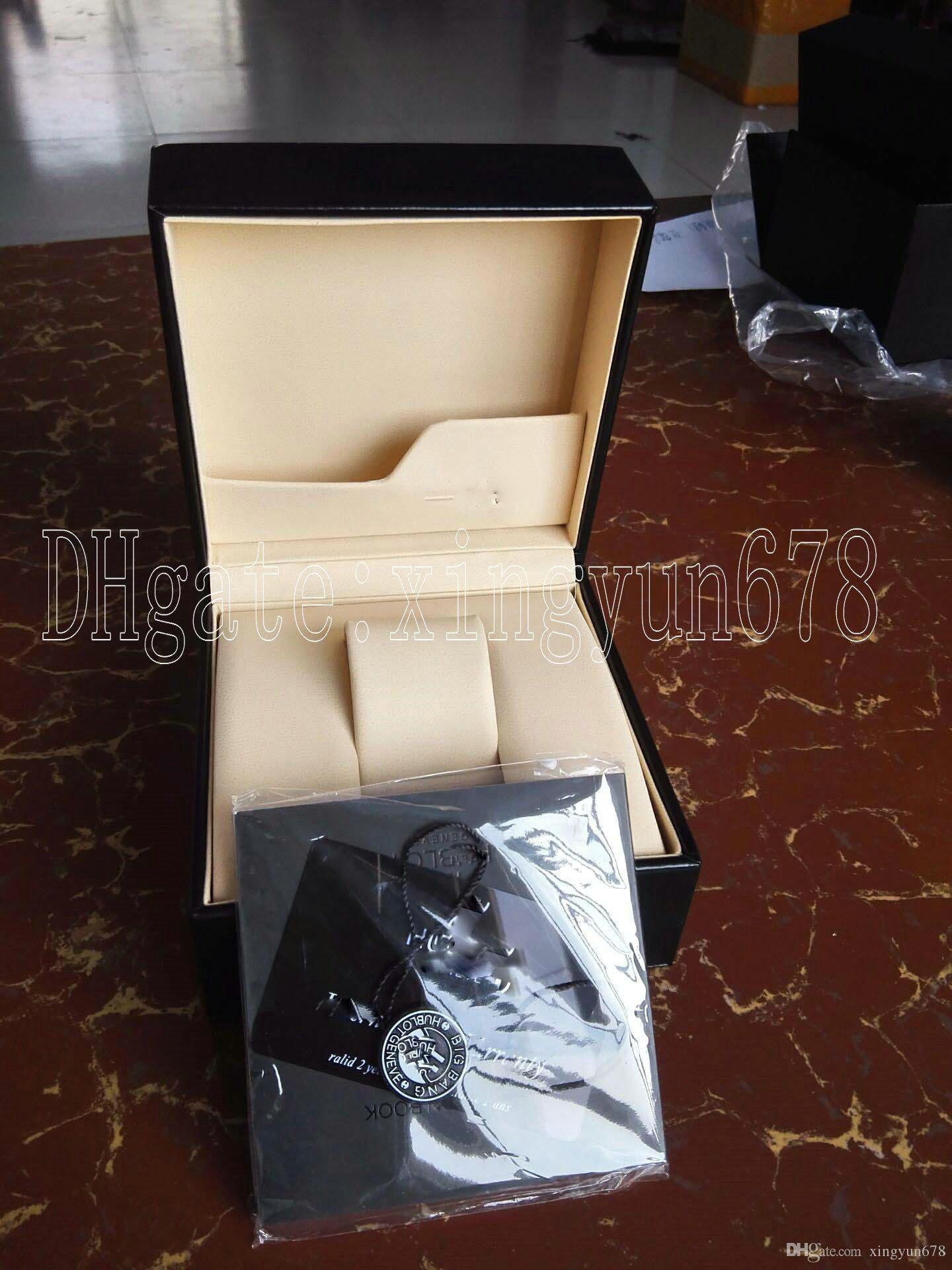 Trasporto di goccia scatole Orologi Scatole uomo Orologio da polso di lusso del Mens di marca per la vigilanza scatola originale interno esterno della donna libera di trasporto-AAA88