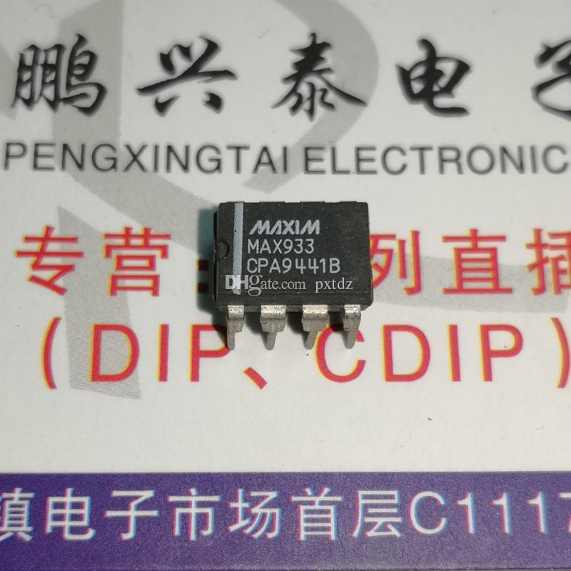 MAX933CPA. MAX933. PDIP8, comparadores con circuitos integrados de 2 referencias ICs / doble línea de 8 pines paquete plástico de inmersión Componente electrónico