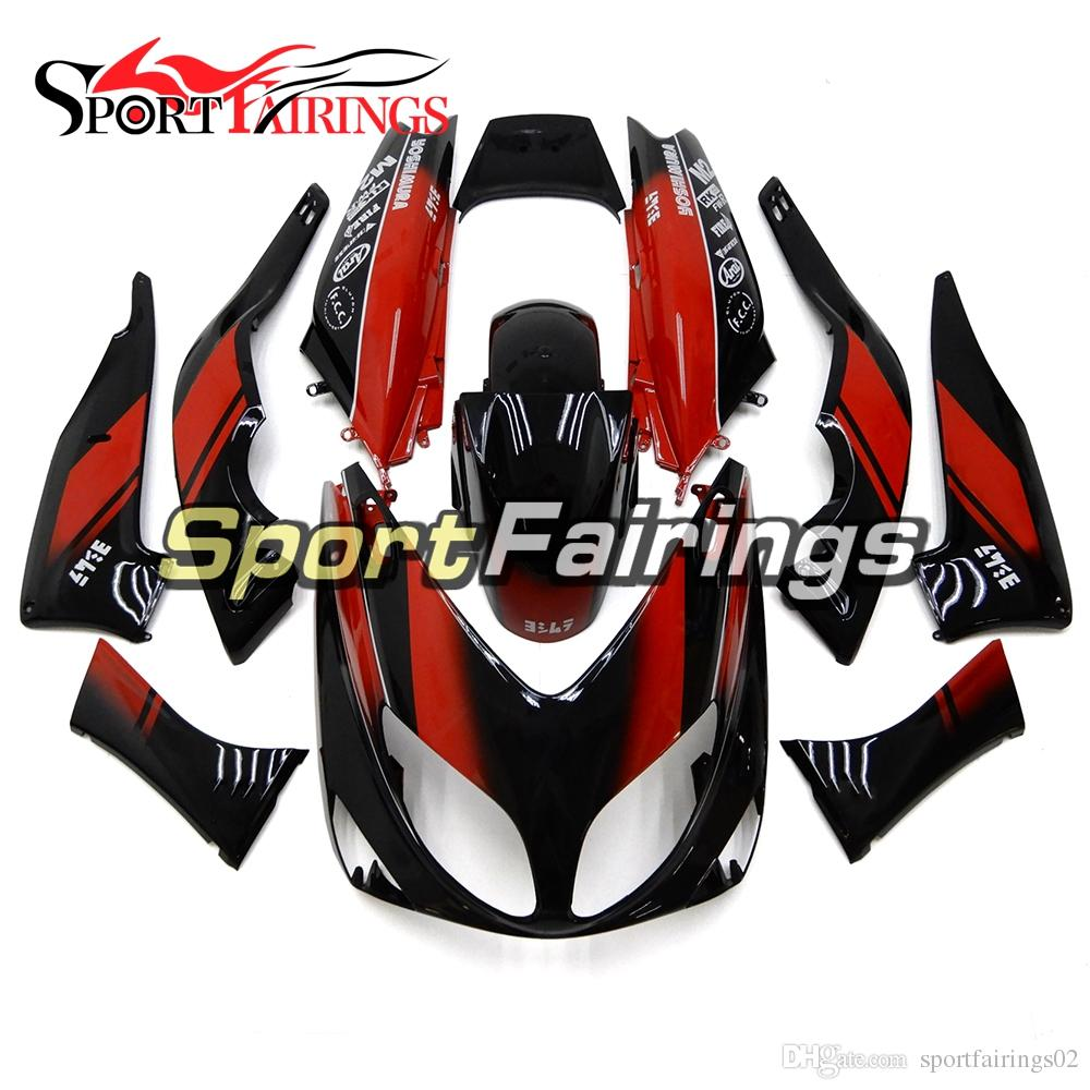 Red Black Injection Fairings For Yamaha TMAX500 2001 - 2007 01 - 07 Year Plastics ABS Fairings Motorcycle Full Bodywork Fairings Hulls New
