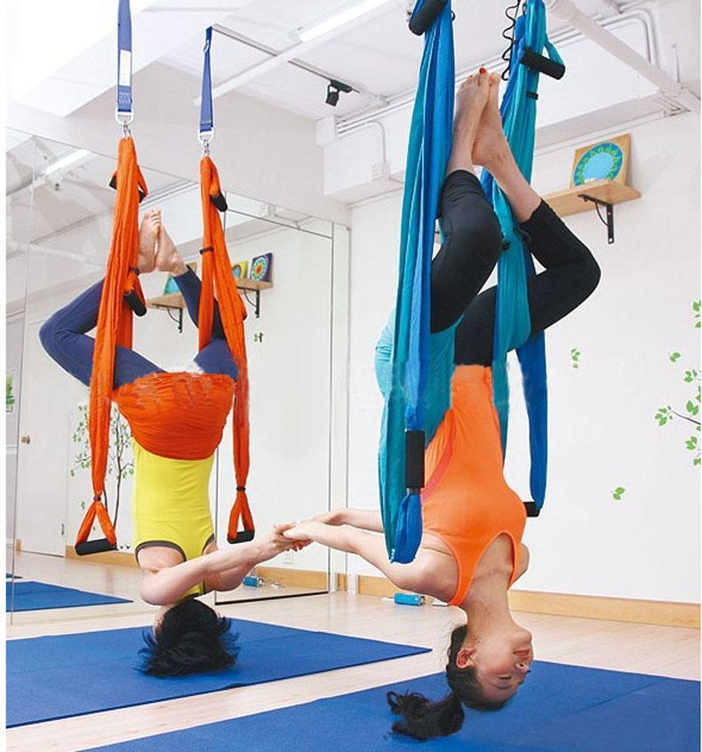 Fitness Yoga Hammock Yoga Swing Anti Gravity Aerial Straps High Strength Fabric Decompression With 6 Grip Hand Warehouse Yihan Resistance Exercise Gym Equipment For Sale From Yihanstore 83 58 Dhgate Com