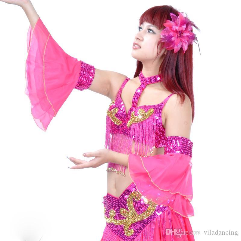 Nowy projekt Oriental Belly Dance Costume 2 Piece Armbands Armlets Rękawiczki 12 Kolory 1 Sztuka