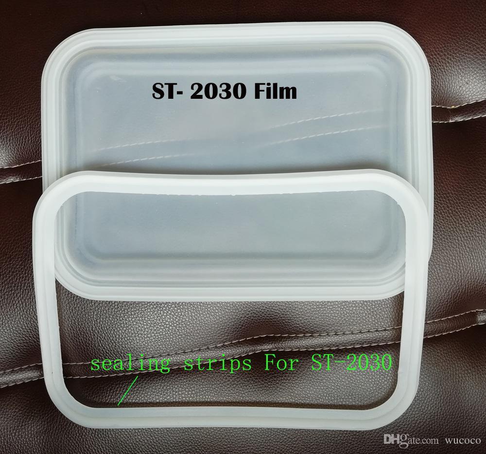 For ST2030 machine Vaccum Silicone Film / Sealing stripes 10 piece / lot