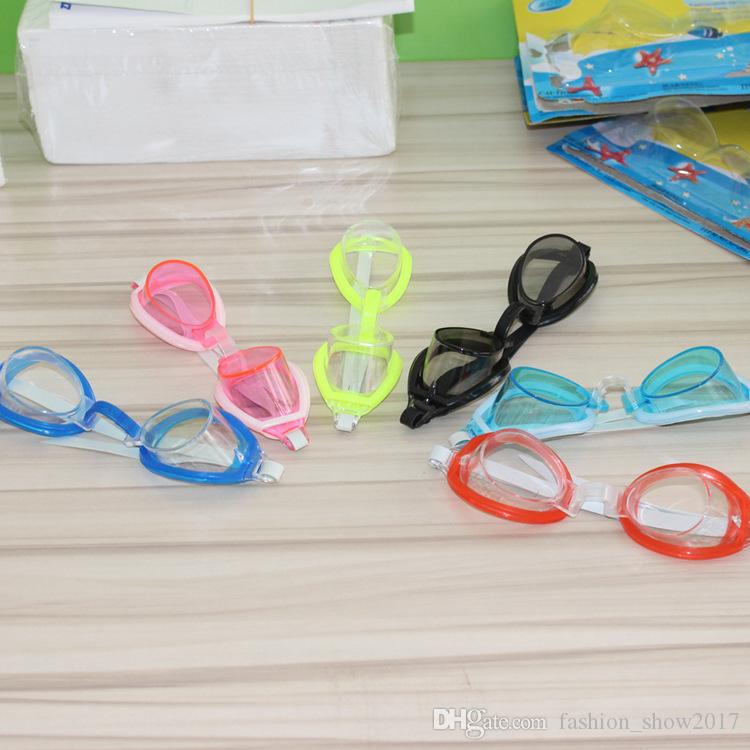 Cute Summer Children Underwater Diving Mask Swimming Goggles Kids Swimming Goggles Swim Glass Waterproof Swimming Glass