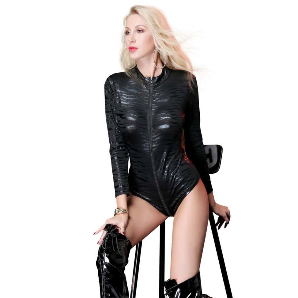 Kobiet Sexy Bielizna Gothic Ogólny Catsuit Jumpsuits Playsuit Playsuit Costume Club Nosić x6725