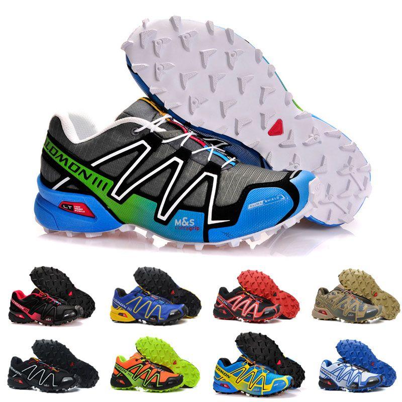 2019 New Brand Men Women Speedcross 3 CS Trail Running Shoes