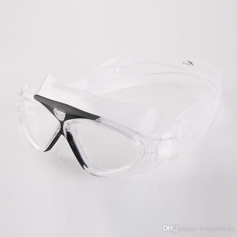 Diving Water Proof Swimming Goggles Large Frame Antifogging Eyeglasses Professional High Quality Glasses With Multi Color 1 78yl jj