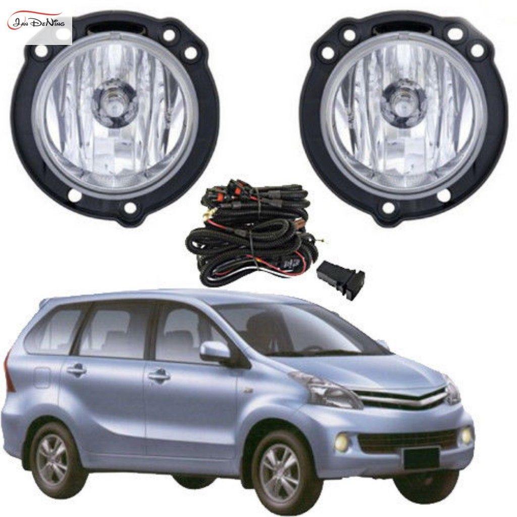 Автомобильные противотуманные фары для TOYOTA AVANZA 2012-2014 передние противотуманные фары бампер лампы комплект выключатель проводки (одна пара)