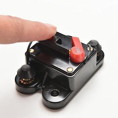DHL 50 PCS 60/80/100/125/150/200 / 250A AMP Auto Voiture Marine Bateau Stéréo Audio Inline Disjoncteur Fusible