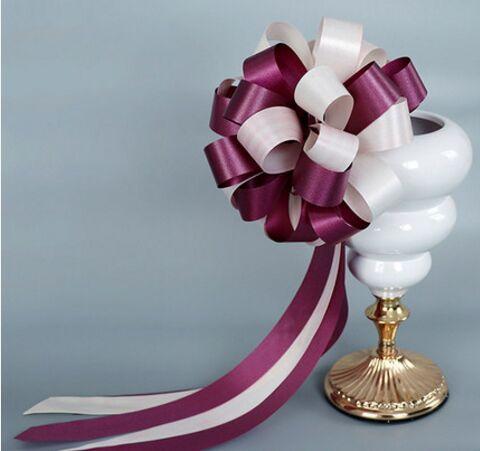 Großhandel Luxuriöse Chinesische Hochzeit Auto Blume Dekorationen Hochzeit Box Geschenk Box Blume Band Multifunktionsleiste Blume Ball Von Zf89097